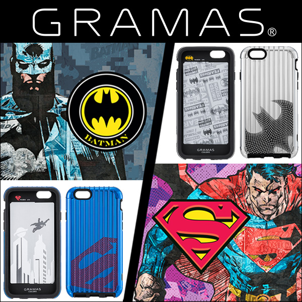 GRAMAS COLORS Hybrid Case BATMAN & SUPERMAN GCSL334 for iPhone 6s/6