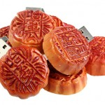 月餅型USBメモリー、発売開始!