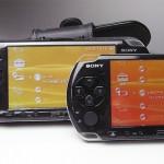 PSP-2000と3000、表示色の違い