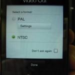 HTC Touch Proとテレビを繋ぐ