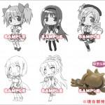 『魔法少女まどか☆マギカ』クリーナー付フィギュアストラップ1BOX(6種セット)予約受付開始!
