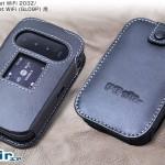 Pocket WiFi専用の高級レザーケースあります!