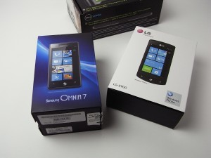 Windows Phone が届きました