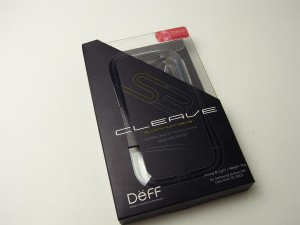 CLEAVE ALUMINIUM BUMPER for GALAXY S III SC-06Dを試す![Galaxy_Report]