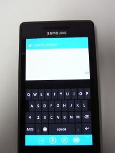 Utakata TextPadを使ってWindows Phone 7で日本語入力