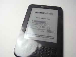 Amazon Kindle届きました!