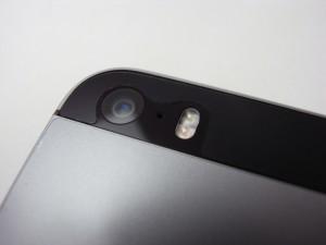 iPhone 5s用裏面保護シート、完成です!