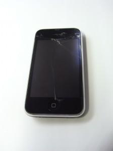 iPhone 3G、落としました。