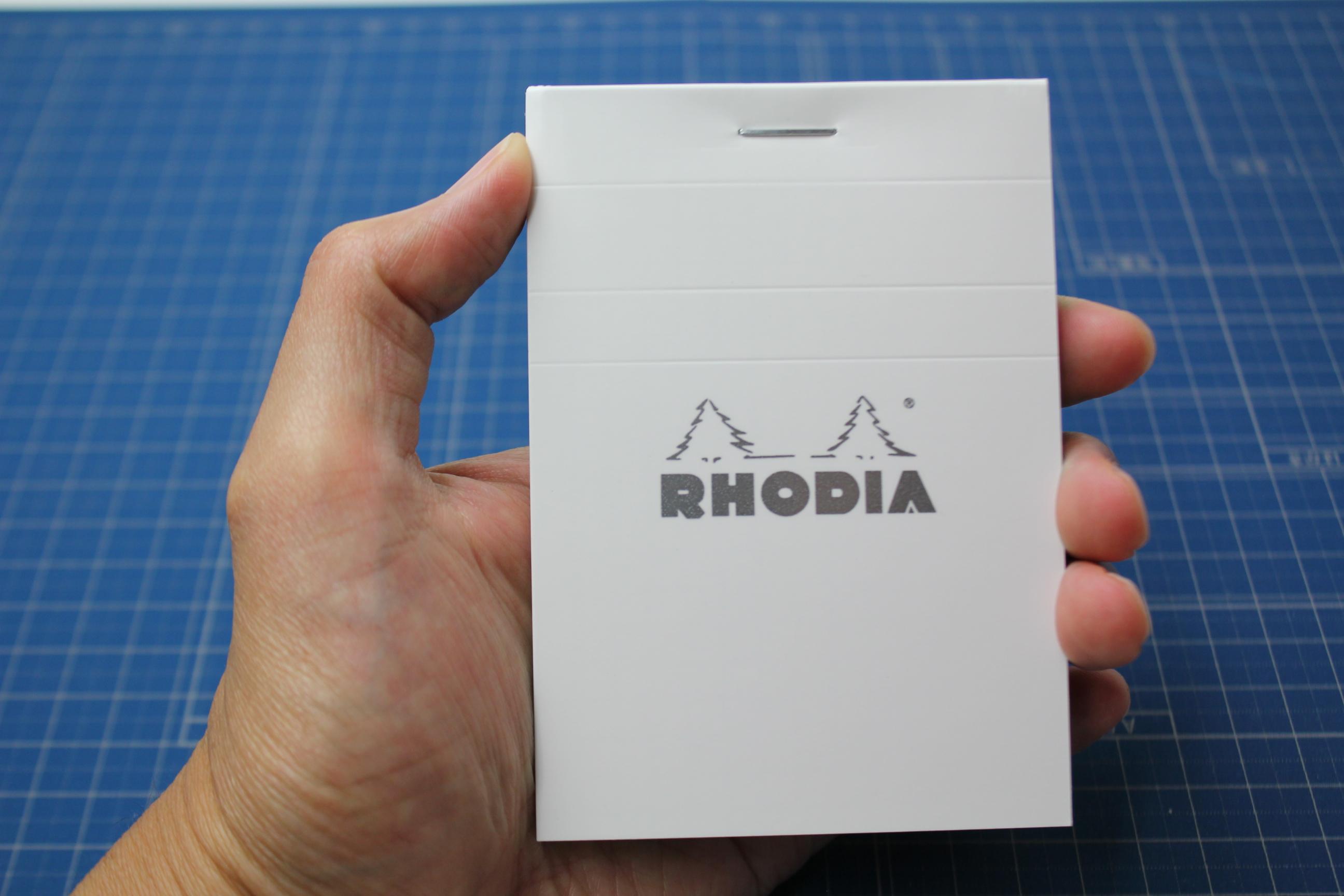 【メモの定番!】ロディアにホワイトが登場しました!「BLOC RHODIA WHITE」