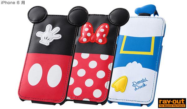 iPhone 6用ディズニージャケットが大量入荷!(レイ・アウト)