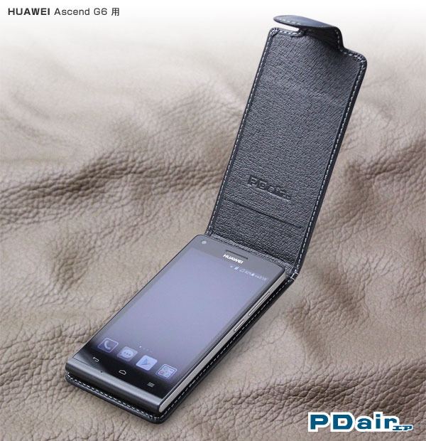 Ascend G6 専用デザインのレザーケースあります!(PDAIR WORKSHOP)