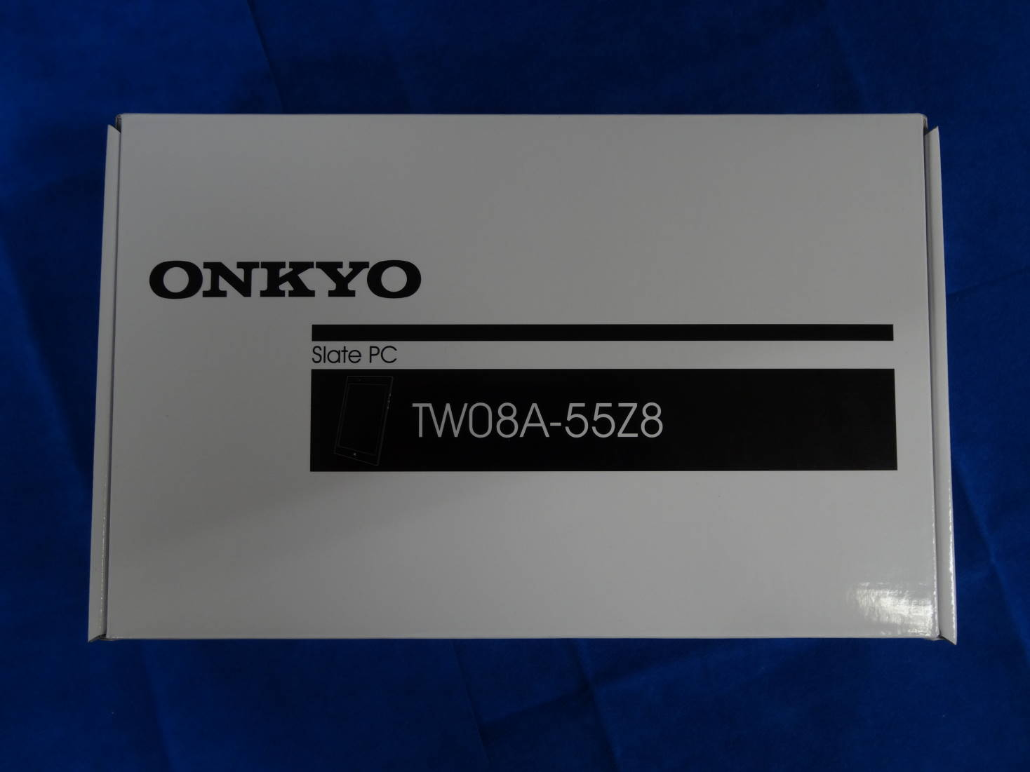 ONKYO Slate PC TW08A-55Z8 外箱