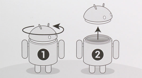 Android Robot フィギュア MEGA Edition Vinyl collectible