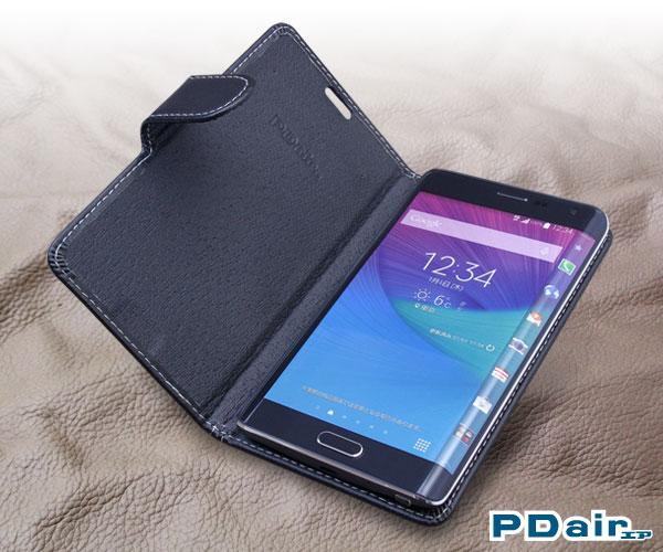 PDAIR レザーケース for GALAXY Note Edge SC-01G/SCL24 横開きタイプ