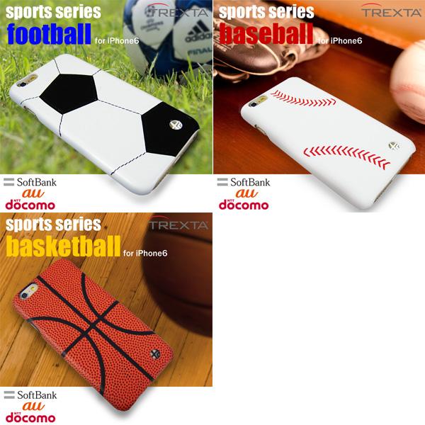 TREXTA トレックスタ 本革張りハードケース スポーツ for iPhone 6