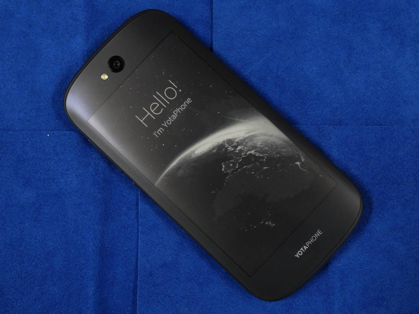 ロシア発のスマートフォン YOTAPHONE 2の保護シート!(OverLay)