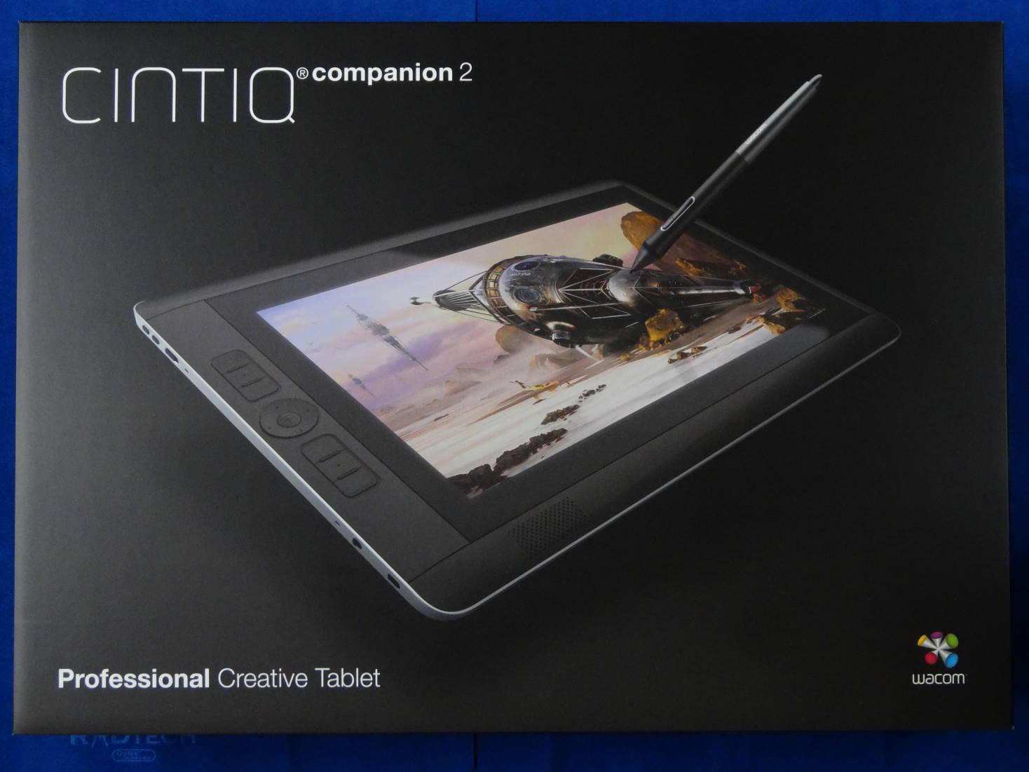 Cintiq Companion2 パッケージ