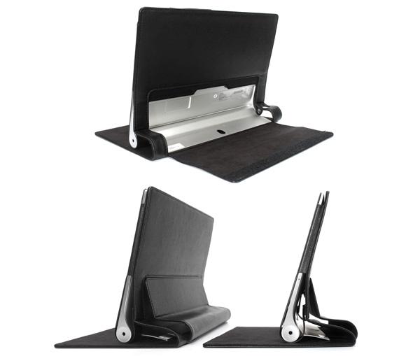 PU レザーケース for Lenovo YOGA Tablet 2-10(ブラック)