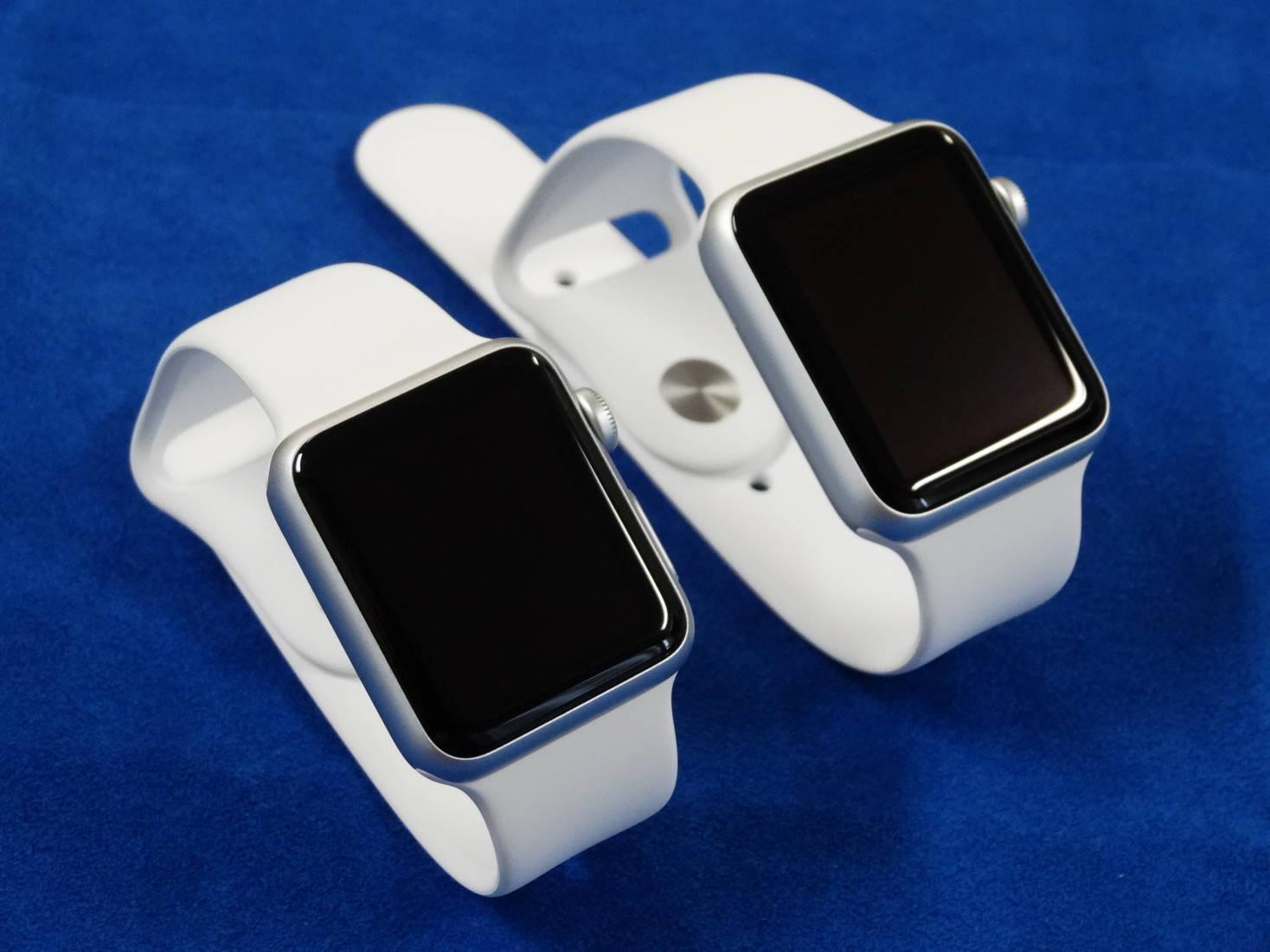 Apple Watch届きました!液晶保護シートはこれから作成します!