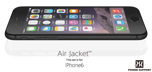 エアージャケットセット for iPhone 6