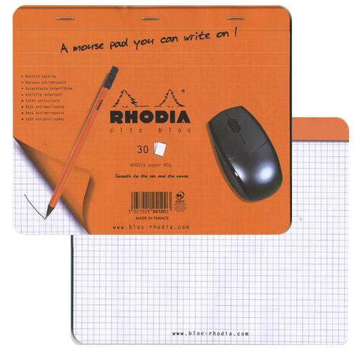 RHODIA クリックブロック マウスパッド