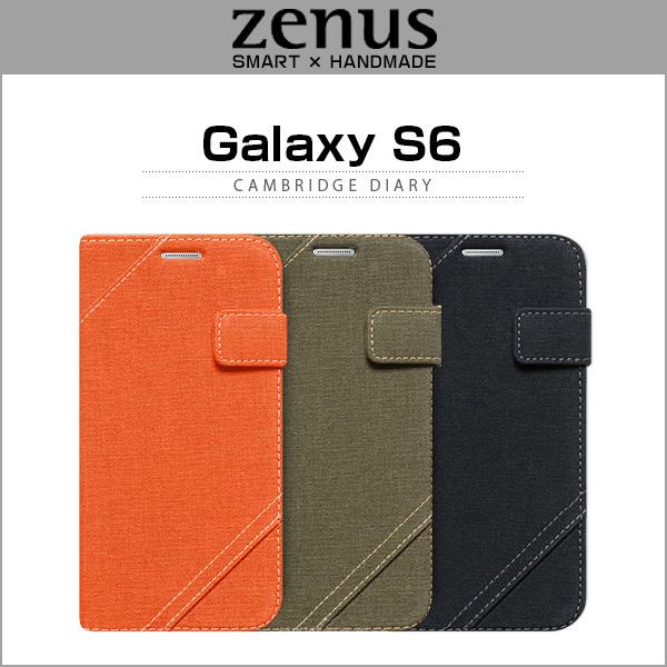 Zenus Cambridge Diary for Galaxy S6 SC-05G