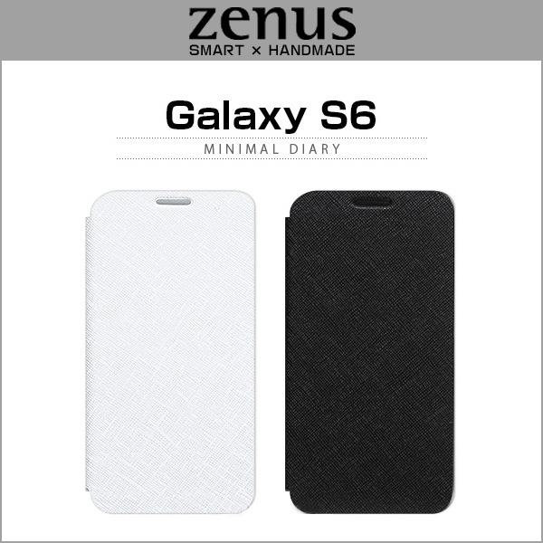 Galaxy S6 SC-05Gの手帳型ケースはゼヌスがバリエーション豊富!(Zenus)
