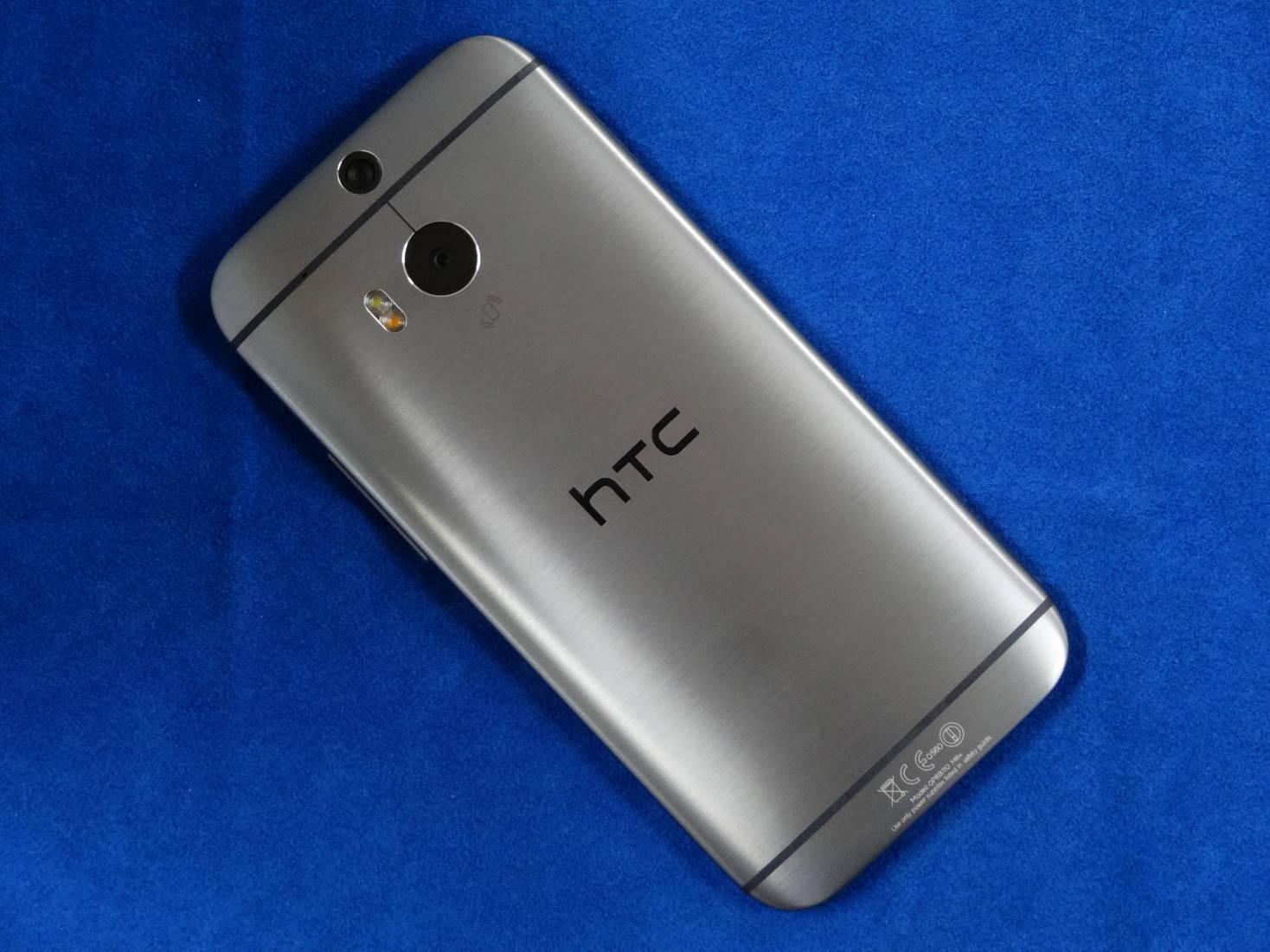 HTC One M8 裏面