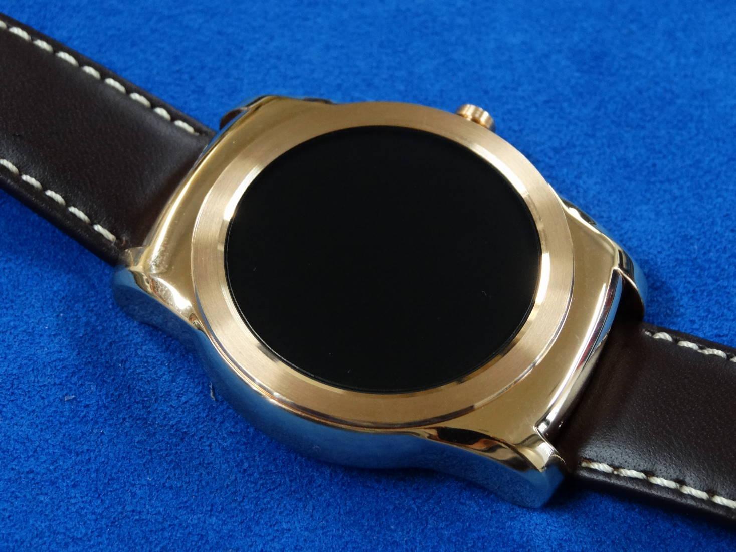 Android Wear の LG Watch Urbane 専用保護シート作りました!(OverLay)