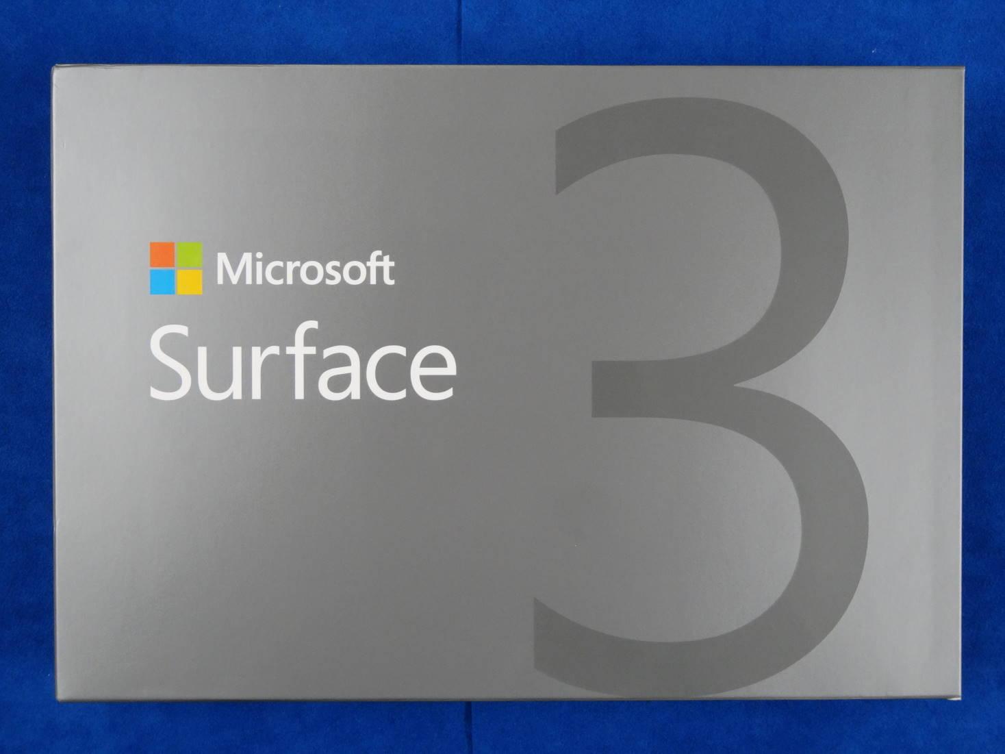 Suraface 3 パッケージ