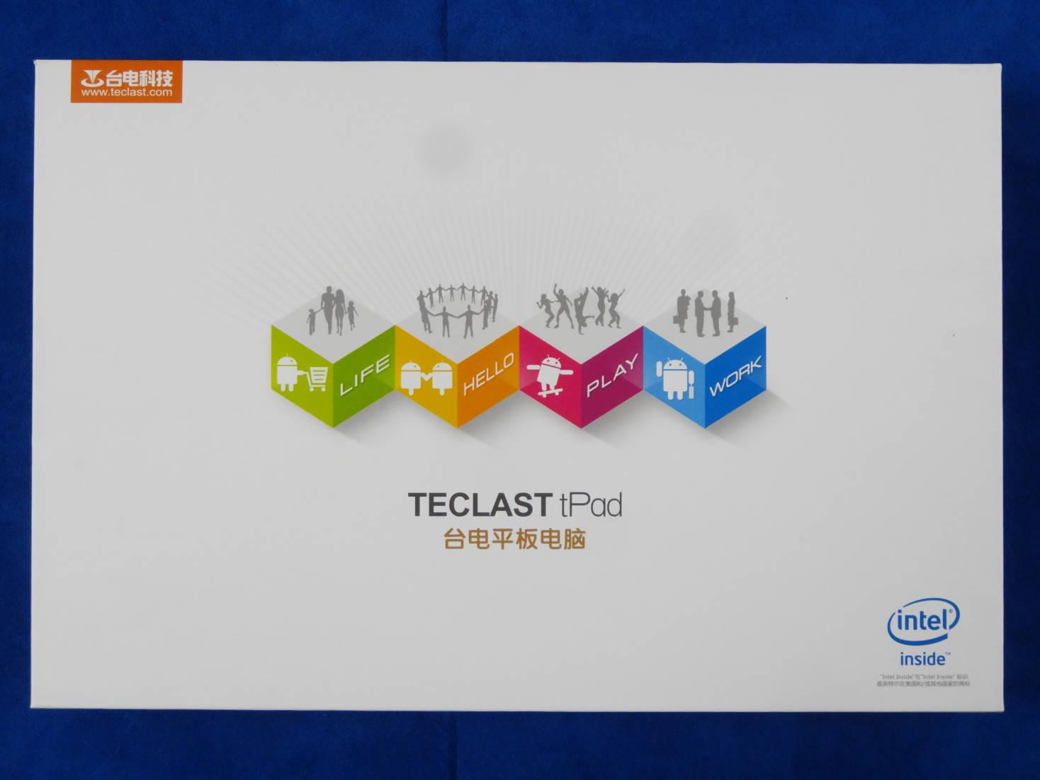 Teclast X98 Pro 外箱