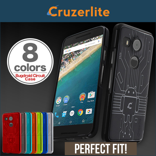 Cruzerlite Bugdroid Circuit Case for Nexus 5X