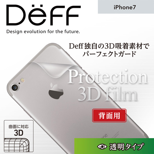 Protection 3D Film for iPhone 7 (背面用)
