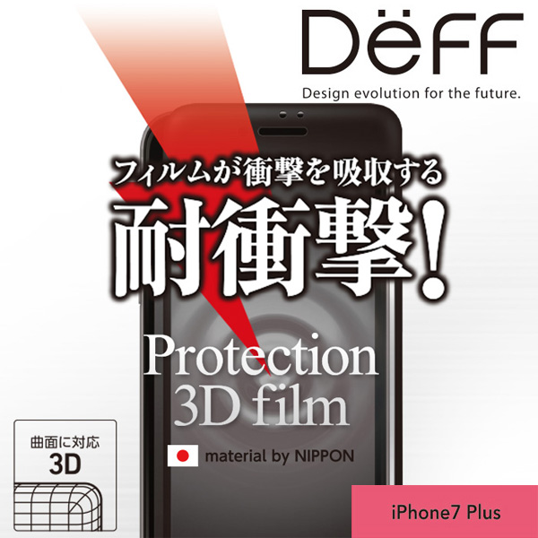 Protection 3D Film for iPhone 7 Plus (液晶面用)