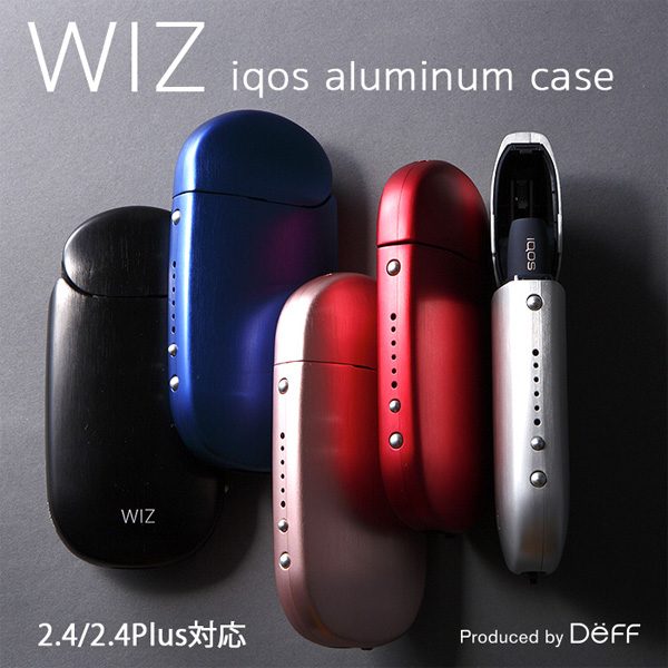 WIZ Aluminum Case for IQOS 2.4/2.4 Plus