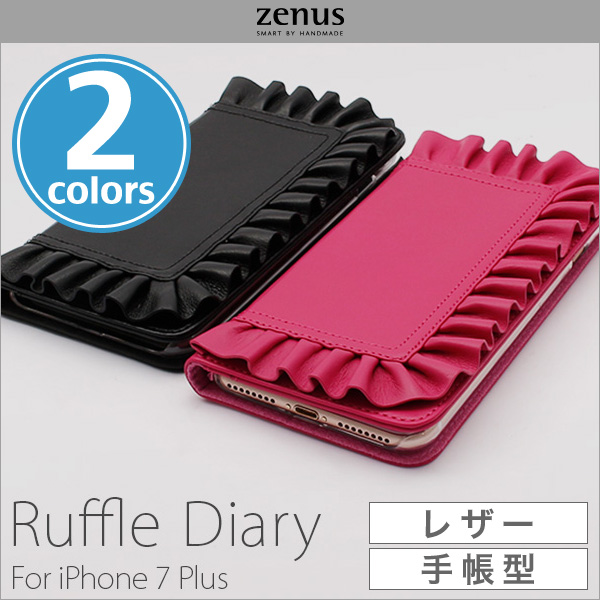 Zenus Ruffle Diary for iPhone 8 Plus / iPhone 7 Plus