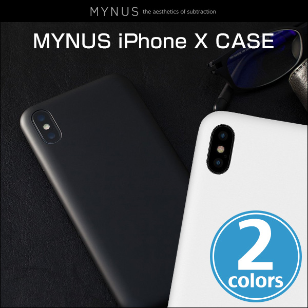 MYNUS ケース for iPhone X
