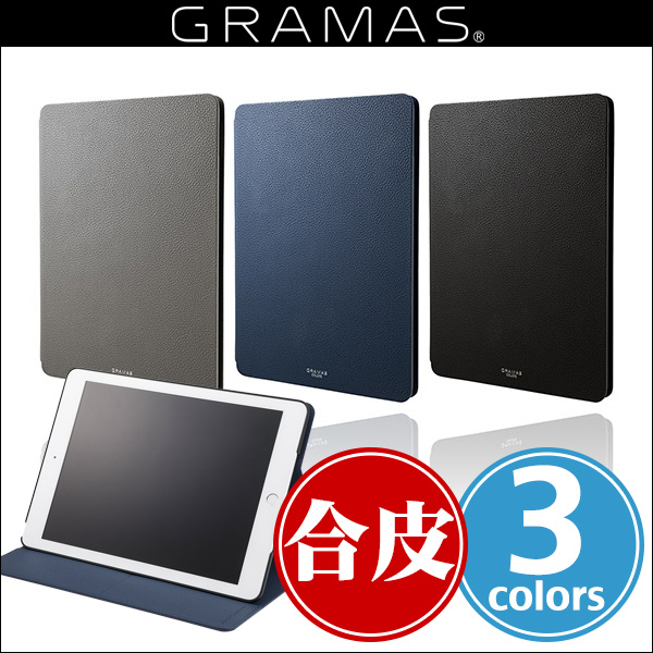 "GRAMAS COLORS ""EURO Passione"" Book PU Leather Case CLC-63828 for iPad(第6世代) / iPad(第5世代)"