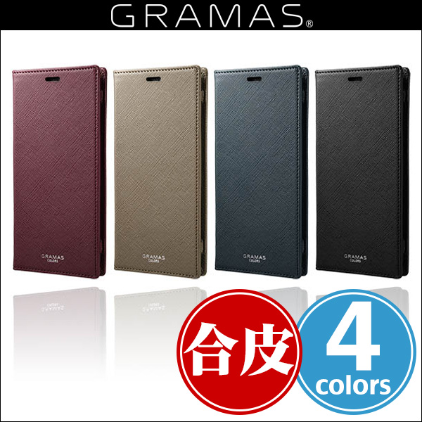 "GRAMAS COLORS ""EURO Passione"" Book PU Leather Case CLC-61228 for Galaxy S9+ SC-03K / SCV39"