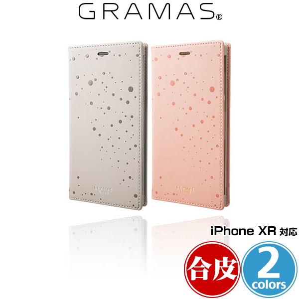 """GRAMAS FEMME """"Twinkle"""" PU Leather Book Case FLC-62528 for iPhone XR"""